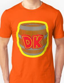 Donkey Kong Country - DK Barrel  T-Shirt