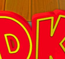 Donkey Kong Country - DK Barrel  Sticker