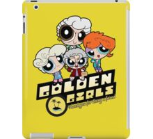 Golden Powerpuff Girls iPad Case/Skin