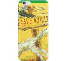 Baskerville: Sergei Lefert's drawing iPhone Case/Skin