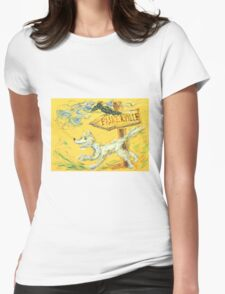 Baskerville: Sergei Lefert's drawing Womens Fitted T-Shirt