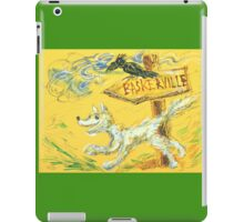 Baskerville: Sergei Lefert's drawing iPad Case/Skin