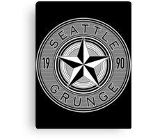 seattle grunge Canvas Print
