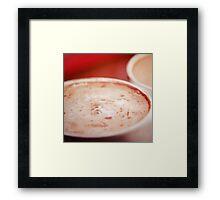 Warm Drink Framed Print