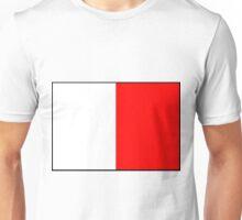 Letter H Flag Unisex T-Shirt