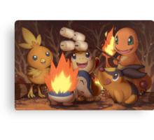 Fire Type Canvas Print