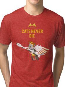 Meowcy Tri-blend T-Shirt