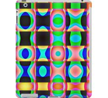 Colorful Psychedelic Abstract Pattern iPad Case/Skin