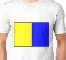 Letter K Flag Unisex T-Shirt
