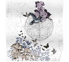 astrological garden party Poster