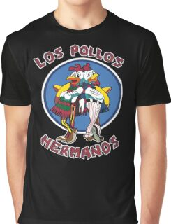 -BREAKING BAD- Los Pollos Hermanos Graphic T-Shirt