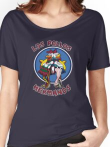 -BREAKING BAD- Los Pollos Hermanos Women's Relaxed Fit T-Shirt