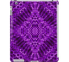 Purple Mind Warp Diffraction Pattern iPad Case/Skin