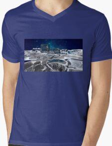 Cold Landscape Mens V-Neck T-Shirt