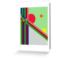 Playful  design by Moma Greeting Card
