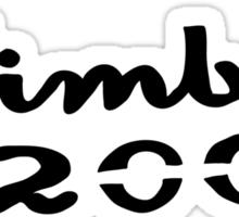 Die hard Nimbus 2000 fan Sticker