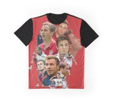 Mario Götze collage tshirts Graphic T-Shirt