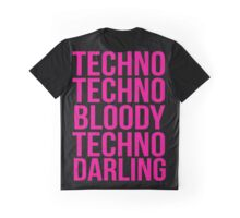 Absolutely Fabulous - Techno, Techno Graphic T-Shirt