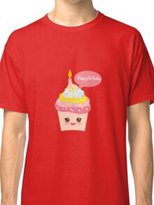 Cupcake birthday card Classic T-Shirt