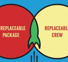 Replaceable Crew 2 #TFIR Sticker