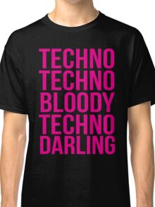 Absolutely Fabulous - Techno, Techno Classic T-Shirt