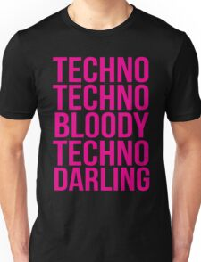 Absolutely Fabulous - Techno, Techno Unisex T-Shirt