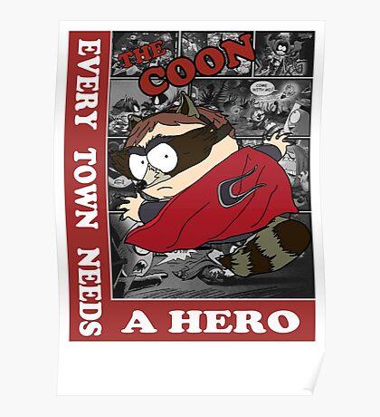 Eric Cartman The Coon Poster