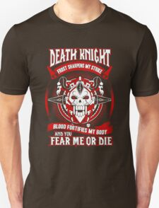 Death Knight Frost Sharpens My Strike - Wow T-Shirt