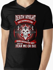 Death Knight Frost Sharpens My Strike - Wow Mens V-Neck T-Shirt