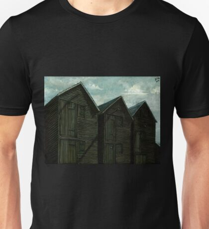 Net Huts in Warm Sunshine Unisex T-Shirt