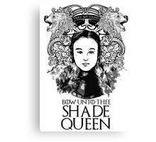 Shade Queen Canvas Print