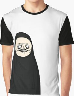 Me Gusta No Face Parody Graphic T-Shirt
