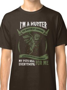 I'm A Hunter The Master Of Survival - Wow Classic T-Shirt