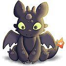 Little Dragon Plush by pyxelexia