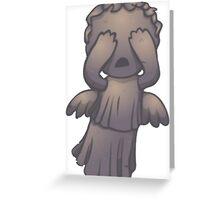 Lil Weeping Angel Greeting Card