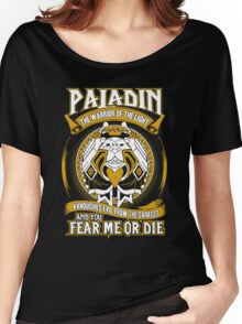 Paladin The Warrior Of The Light - Wow Women's Relaxed Fit T-Shirt