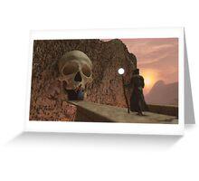 Mountain Lair Dare Ye Pass Greeting Card