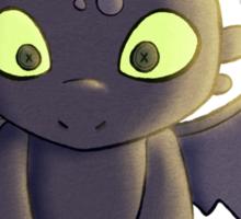 Little Dragon Plush Sticker