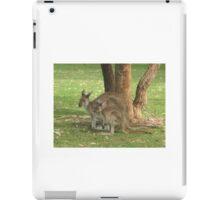 Mother Kangaroo and young iPad Case/Skin