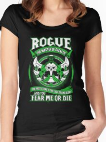 Rogue The Master Of Stealth - Wow Women's Fitted Scoop T-Shirt