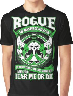 Rogue The Master Of Stealth - Wow Graphic T-Shirt