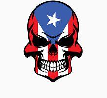 Puerto Rican Flag Skull Unisex T-Shirt