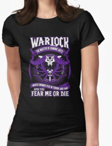 Warlock The Master Of Demonic Arts - Wow Womens Fitted T-Shirt