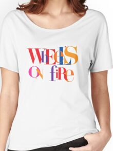 Absolutely Fabulous - Wheel's On Fire  Women's Relaxed Fit T-Shirt