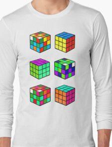 Rubik's Cubes Long Sleeve T-Shirt