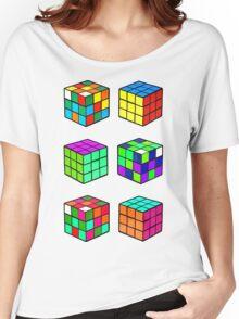 Rubik's Cubes Women's Relaxed Fit T-Shirt