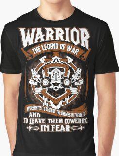 Warrior The Legend Of War - Wow Graphic T-Shirt