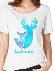 Doe and Stag soulmates Women's Relaxed Fit T-Shirt