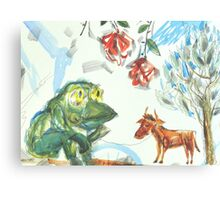 Shepherd-Frog Canvas Print