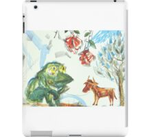 Shepherd-Frog iPad Case/Skin